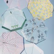 透明の傘のむこうに、青空を待ちながら
