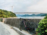 バイクを借りて、しまなみ海道サイクリングへ!