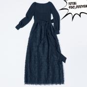 クチュリエの技が光るヴァレンティノのドレスに夢中