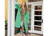 一枚で春を呼び込む、カラー&パターンのコート