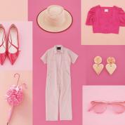 ローズ、チェリー、モーブ、フューシャ。モードに咲き乱れるピンクを毎日! Part.1