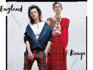 ロンドンのパンクスタイル&アフリカンポップなケニアをイメージ