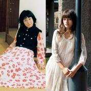 花代さん(アーティスト) & 点子さん(モデル・女優)