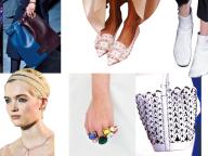 リラックスムードを演出する靴&バッグ、ロマンティックなアクセサリー