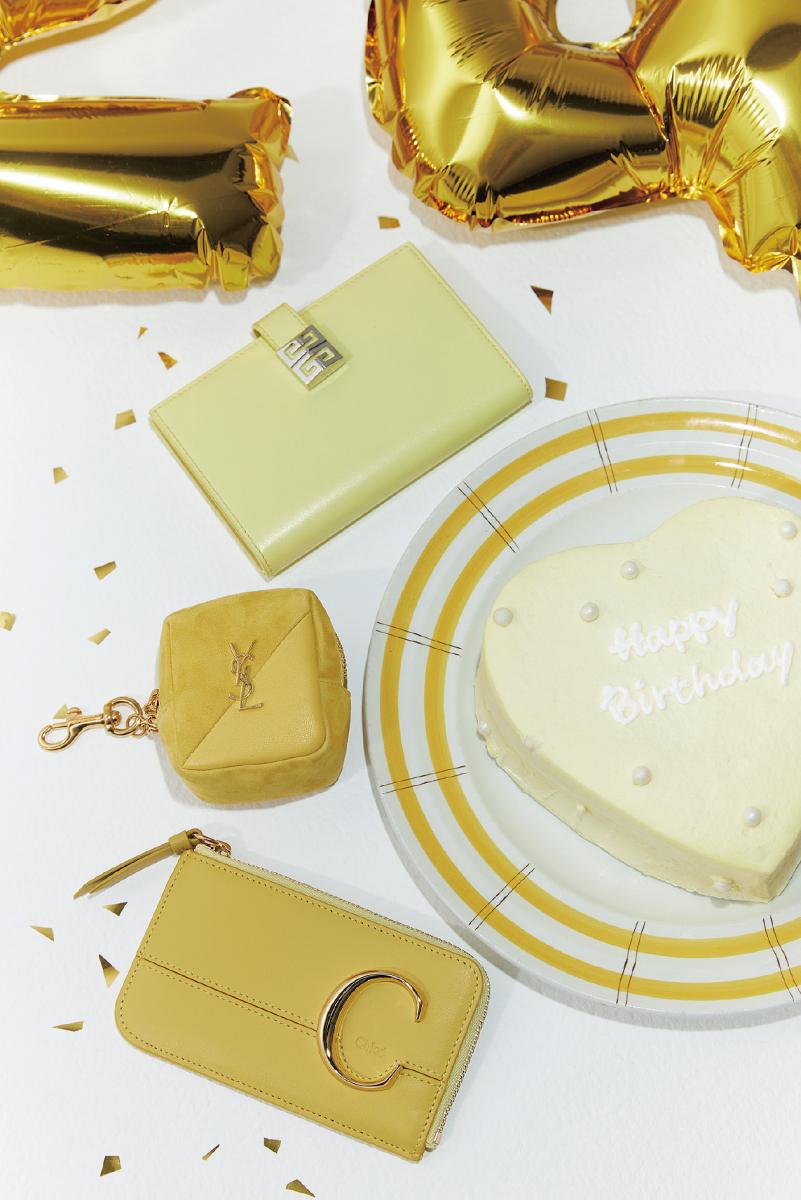 黄色でデコレートして生誕祭を盛り上げる