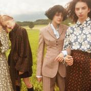 ファッション特集 秋の若草たちは、「ロマンスモード」とともに