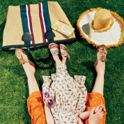 #picnic 輝く太陽に似合うプレイフルスタイルを