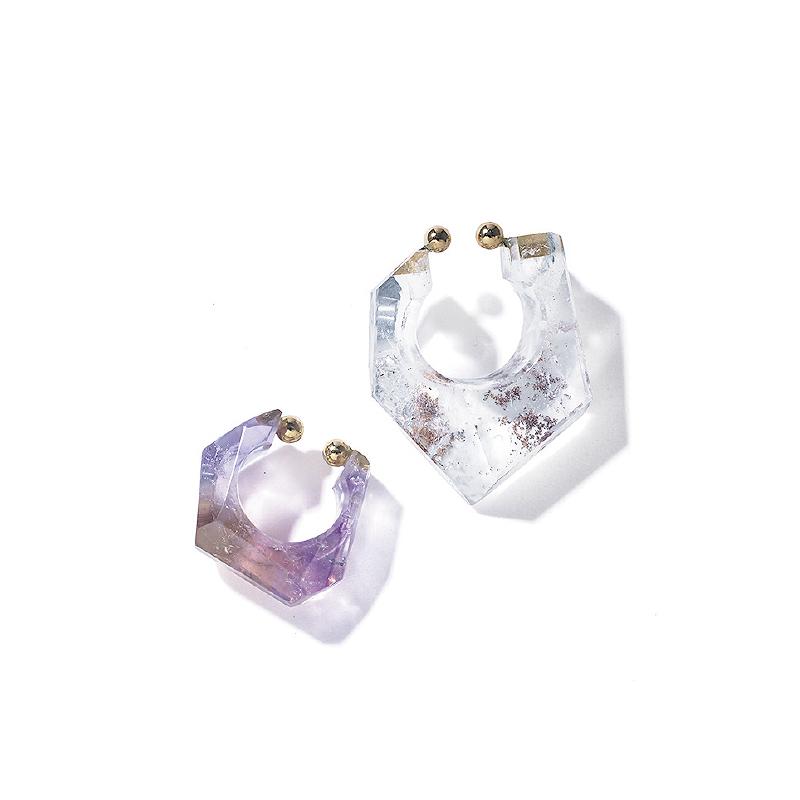 MONAKA jewelleryの天然石イヤーカフ