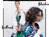 タータン発祥の地スコットランド&ブータンの民族衣装をスタイリングアイデアに