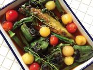 鈴木純子さんの「ワインとの相性抜群な野菜の焼きだし浸し」