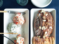 ティーマの角皿とポテトディップ - 今月のひと皿 | vol. 11