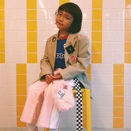 弱冠6歳! 原宿のキュートなファッション・サラブレッド-Coco