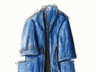 デニムのコート ― 着られなかった服 ― #spurstory #みんなの思い出を物語にします