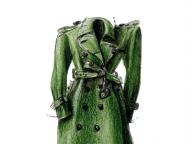 母のトレンチコート ― 家族が着ていた服 ―