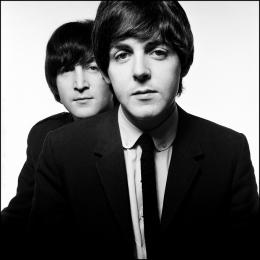 ジョンとポールの未公開写真も展示、デヴィッド・ベイリーの日本初となる個展が開催中