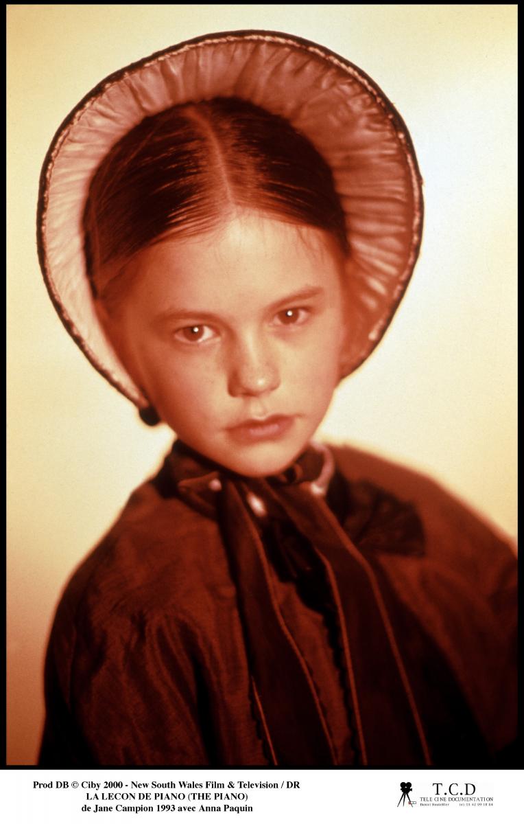 演技未経験だったにもかかわらず、オーディションを勝ち抜いて『ピアノ・レッスン』(1993)で主人公の娘フローラを演じたアンナ・パキン。その勢いのまま11歳にしてアカデミー賞助演女優賞を受賞し天才子役として有名に。しかしその先はなかなか出演作に恵まれなかった。