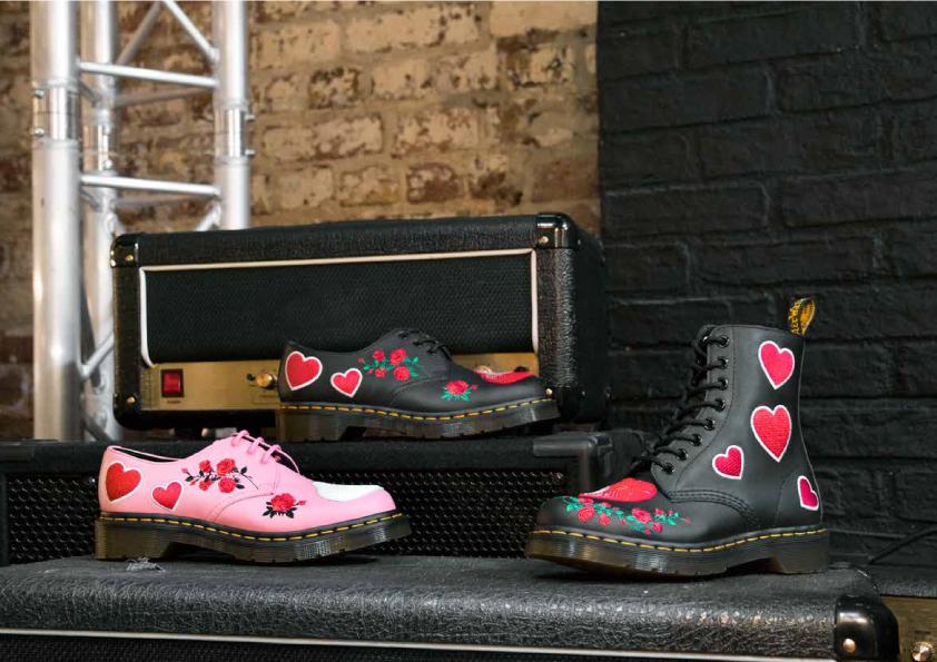 靴 各¥23,000・ブーツ ¥26,000/ドクターマーチン・エアウエア ジャパン(ドクターマーチン)