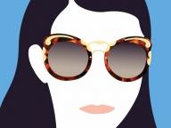 プラダの人気アイウェア「ミニマル バロック」に新作が誕生