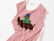 とんだ林 蘭×レイ ビームスのTシャツコレクションが誕生、ポップアップショップでは似顔絵イベントも