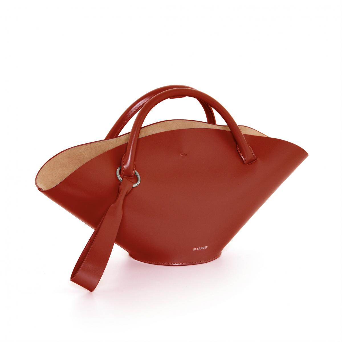 バッグ「ソンブレロ スモール」〈H18×W43×D13㎝〉¥175,000/オンワードグローバルファッション(ジル・サンダー)