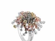 【DAMIANI】海底で揺らめく触手をカラーダイヤでリッチに表現