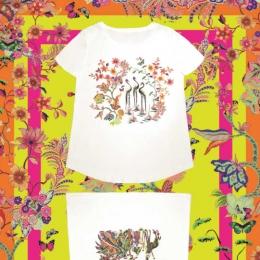 エトロの春夏Tシャツが発売! シマウマやキリンなどアニマルをプリント