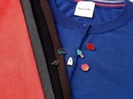 リップにゴースト、好きなボタンを選んで! ポール・スミスのカーディガンをカスタマイズ