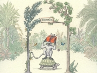 絵本にメッセージを添えてプレゼントできる、エルメスのクリスマス限定サイトがオープン