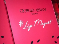 マグネットのようにピタリとなじむ、新ルージュ #LipMagnet を体験