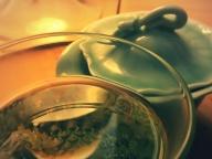 物は試しと菊のお茶 #273