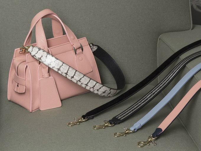 ジョルジオ アルマーニのバッグ「ル サック オンズ」にカスタマイズストラップが登場
