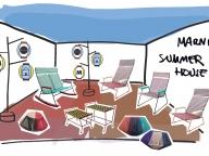 「マルニ サマー ハウス」が8月10日から開催! 日本の伝統工芸品も豊かなプリントを纏って登場