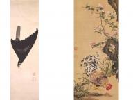 伊藤若冲、与謝蕪村など京都画壇を代表する画家の作品が一堂に。話題作「孔雀鳳凰図」も公開