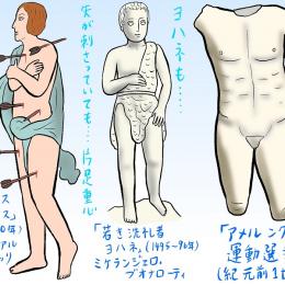 「ミケランジェロと理想の身体」展で男性裸体にまみれる #32 #ミケランジェロ展