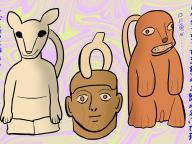 グロかわいい #古代アンデス文明展 #27