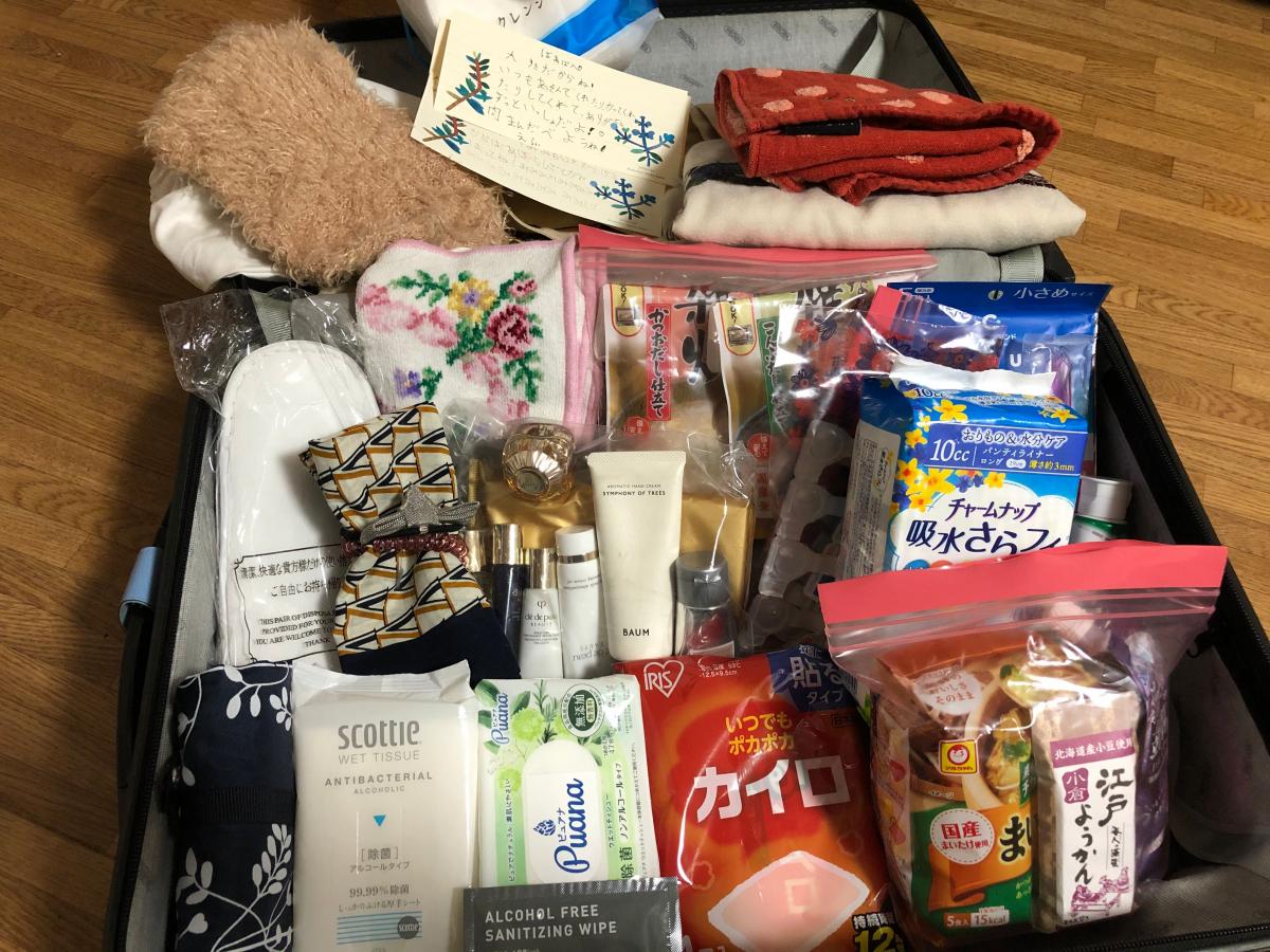 松田佳重子さん/被災地で化粧品を手渡しして回った経験を生かした、防災キャリーバッグ