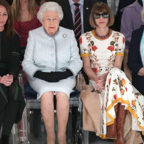エリザベス女王をランウェイのフロントロウでキャッチ! 人生初のロンドンファッションウィークを満喫