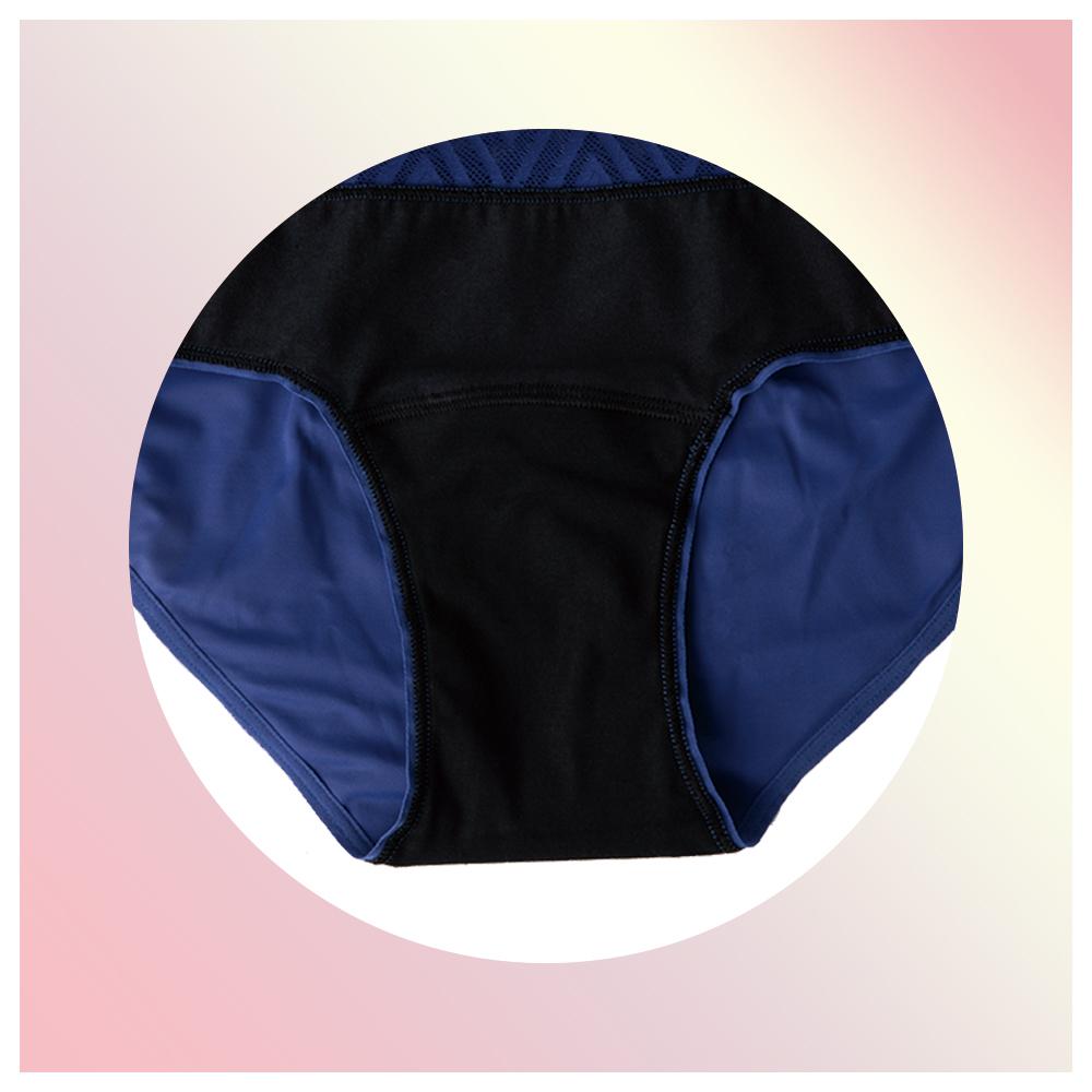 1.THINX THINX ショーツ Hiphugger New Lace ブルー XS(クロッチ部分)