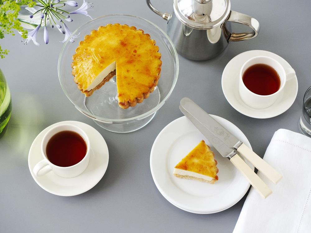 チーズ、バターなど乳製品や卵不使用の絶品【レアチーズケーキ】との出合い!