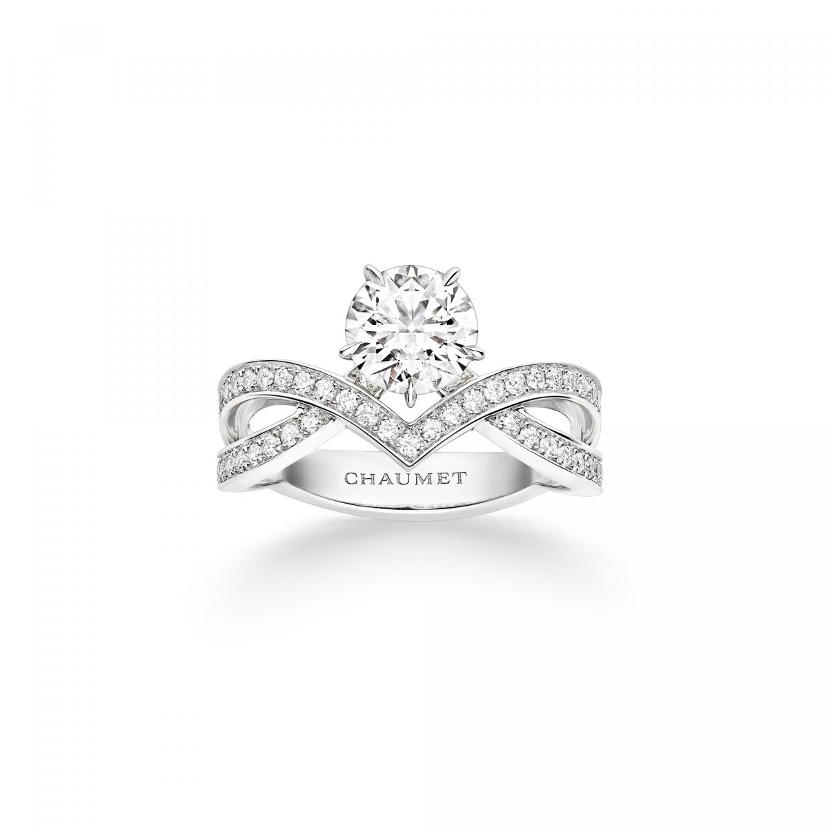「ジョゼフィーヌ」コレクション アムール デグレット リング〈Pt、ダイヤモンド0.5ct~〉¥899,000