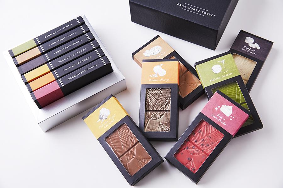 個性豊かに香るチョコレートバーのセット【パーク ハイアット 東京】