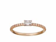 【Cartier】日常に映える可憐でエレガントなダイヤモンドリング