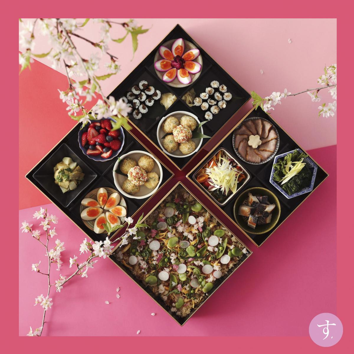 江戸前寿司が着想源。和モダンなハレの日のお重