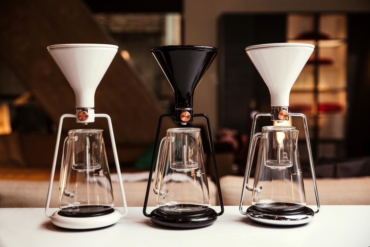 スマートフォンアプリでレシピをシェアして楽しめる「コーヒーメーカー」