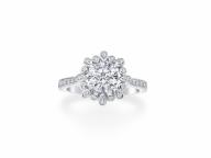 【Harry Winston】ダイヤモンドの花が咲くリュクスなリング