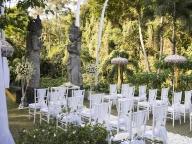 ウブドのライステラスを前に至福を感じる、静寂の大人リゾート婚