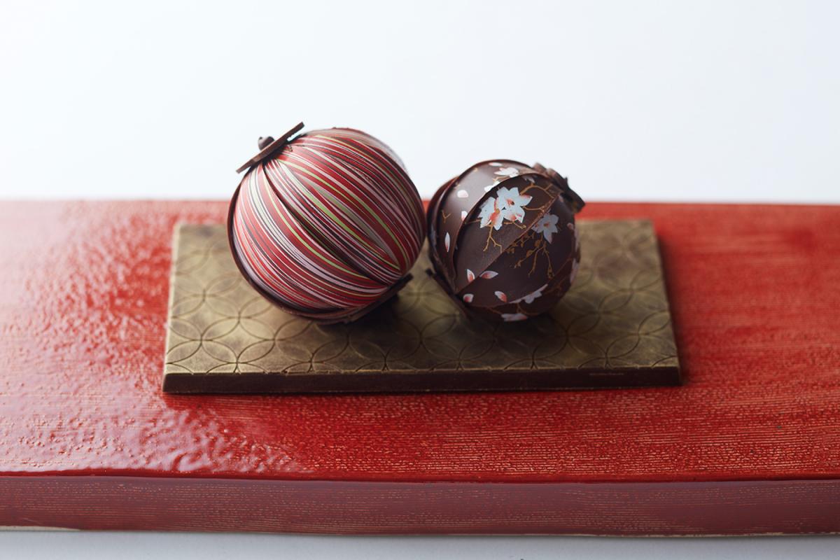 卓越した技術が生む、雅やかな手毬チョコ【ホテル雅叙園東京】