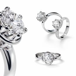 ダイヤモンドの輝きにこだわった遊び心あふれるコレクションが一堂に! ダミアーニがブライダルフェアを開催