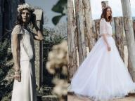 モード派花嫁が狙うのは、自由なスピリットで纏うセパレートドレス