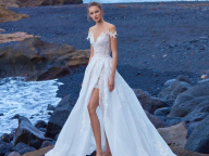 NYセレブも虜にする要注目ブランド。「ガリア・ラハヴ」のAラインドレスが、マグノリア・ホワイトに到着!